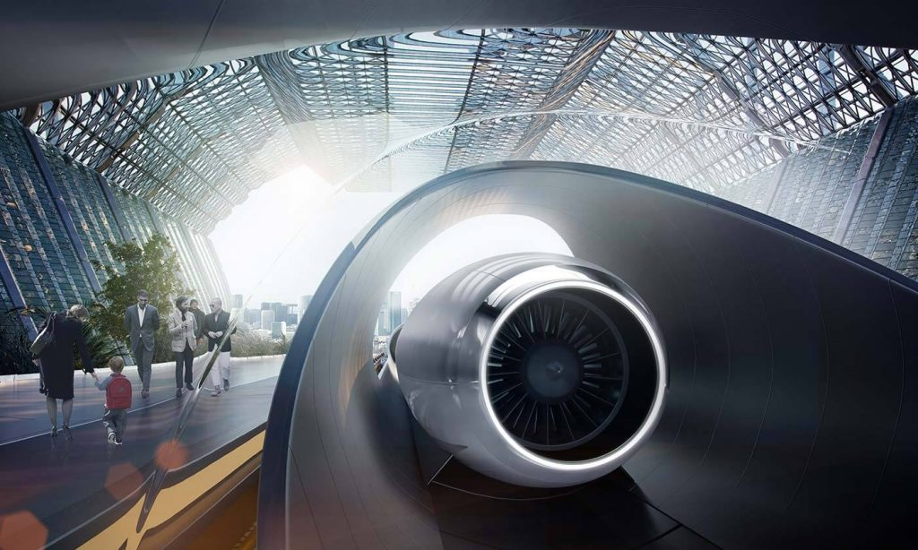 hyperloop transport teknologi