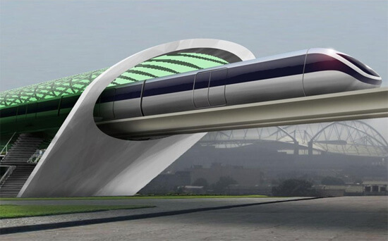 hyperloop transportmiddel